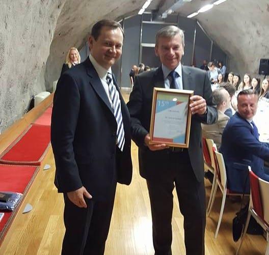 Dr. Virginijus Kundrotas- prezes BMDA i Andrzej Popadiuk - prezes GFKM