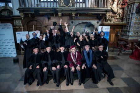 MBA graduacja, wreczenie dyplomow, GFKM