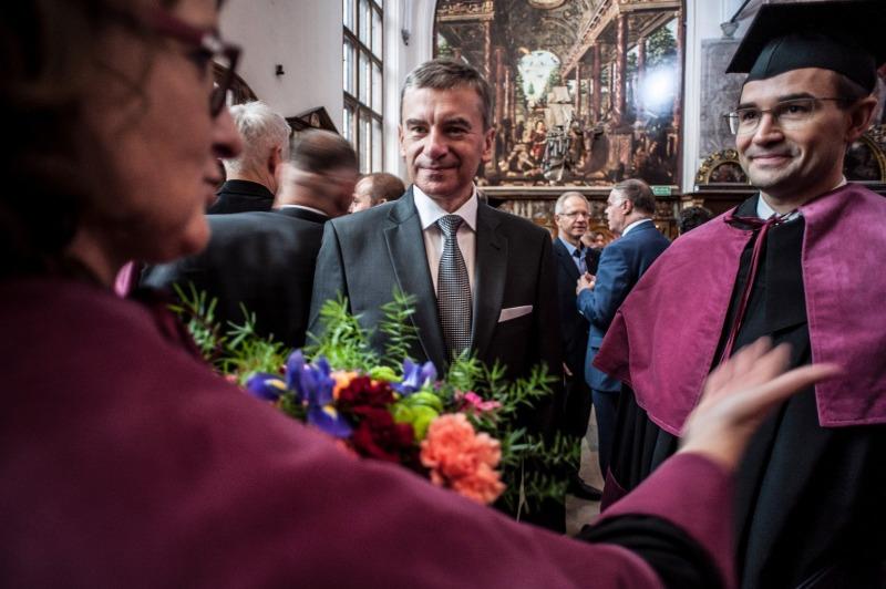 Prezes GFKM Andrzej Popadiuk, MBA graduacja 2017