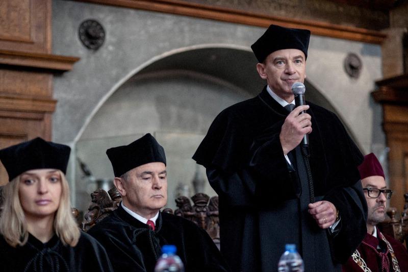 Prezes GFKM Andrzej Popadiuk, graduacja MBA 2017