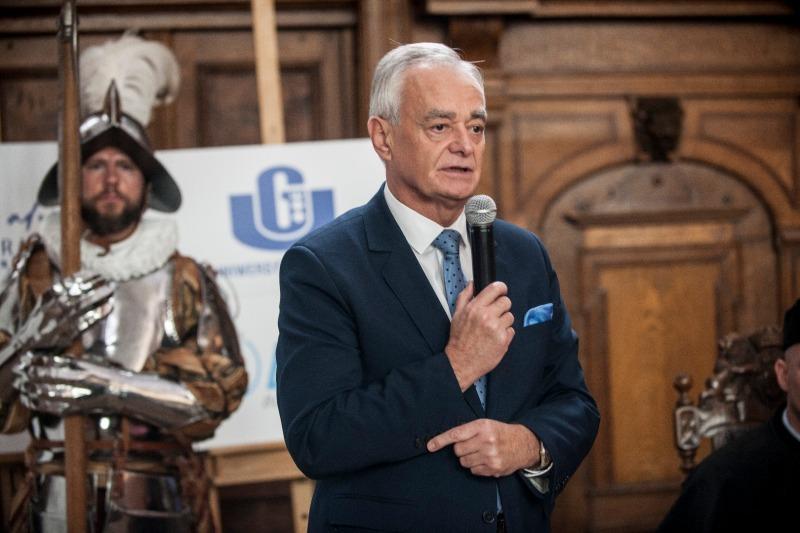Dr inż. Zbigniew Canowiecki, Prezydent Pracodawcow Pomorza, graduacja MBA 2017 GFKM