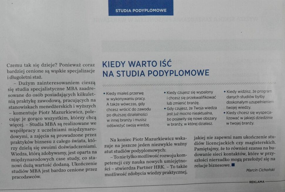 GFKM Newsweek