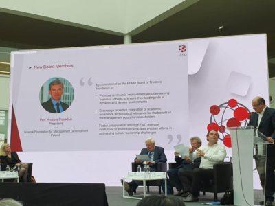 Andrzej Popadiuk prezes GFKM, członek zarzadu EFMD