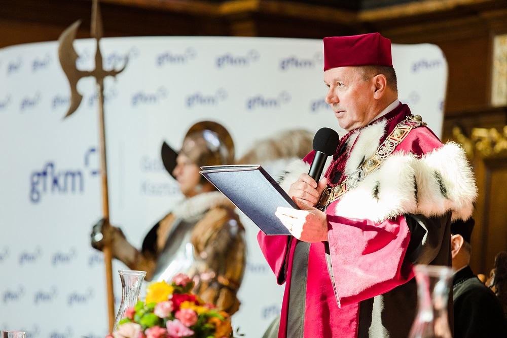 Prof. dr hab. Andrzej Noras, Prorektor Uniwersytetu Śląskiego ds. Badań Naukowych